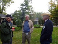 Colonel Steve Gardner, Richard Whitson, and Bob Charland